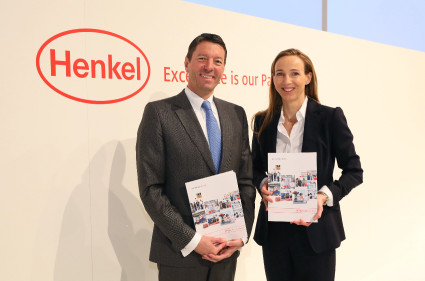 Henkel CEO Kasper Rorsted & Dr. Simone Bagel-Trah, Chairwoman of the Shareholders' Committee & Supervisory Board
