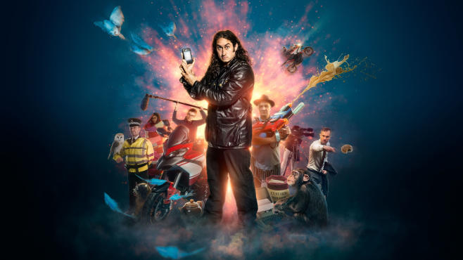 Improvisation genius Ross Noble to return to UKTV's Dave channel for second series of Ross Noble Freewheeling