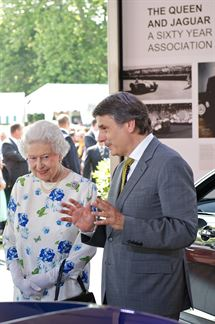HM The Queen and Dr Ralf Speth