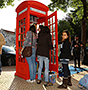 Portugal Telecom turns its phone booth into community mini-library 2