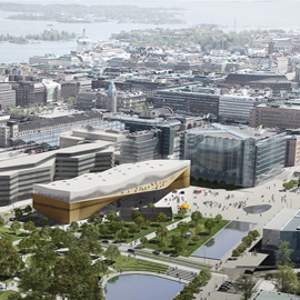 Ramboll selected as structural designer for the construction of the new Helsinki Central Library