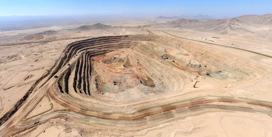 World's largest silver and eighth biggest copper producer KGHM completes pre-stripping of Sierra Gorda mine in Chile