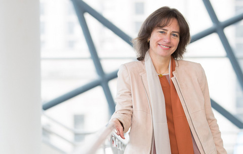 Belgacom's Dominique Leroy wins the Trends Business Women Award in the category of CEO