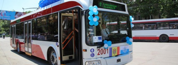 EBRD and EU financed the modernisation of public transportation in Moldova's second biggest city Bălți