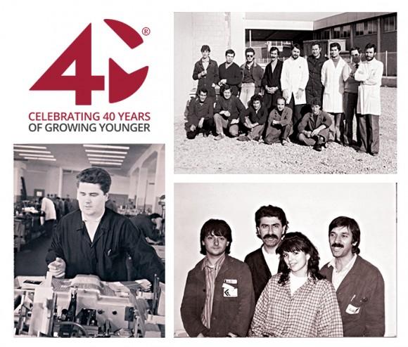 Marchesini Group festeggia quarant'anni di packaging