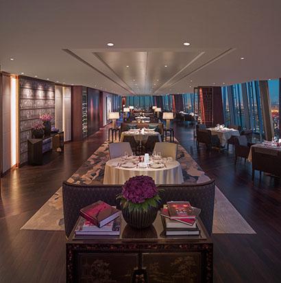 TĪNG restaurant at Shangri-La Shard hotel London