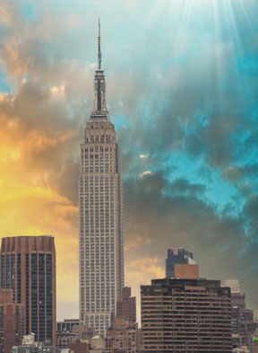 The Empire State Building is one of only three buildings to have held the title of world's tallest building for more than a decade