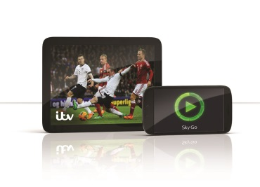 ITV channels joins mobile TV service Sky Go