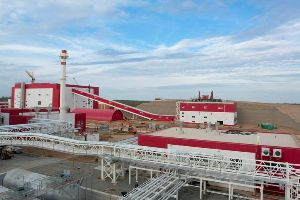 LUKOIL celebrated the commissioning of mining and concentration complex at the Vladimir Grib field north-east of Arkhangelsk