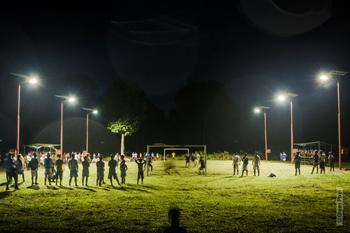 Royal Philips and Royal Dutch Football Association kicked off series of football clinics at Philips Community Light Centers across Brazil