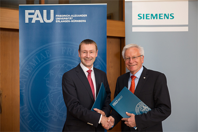 Siemens and Friedrich-Alexander-Universität Erlangen-Nuremberg (FAU) formed alliance to conduct research in sustainable, affordable and reliable energy systems