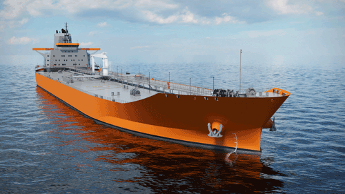 Wärtsilä launched Aframax tanker design at the Posidonia 2014 exhibition in Athens