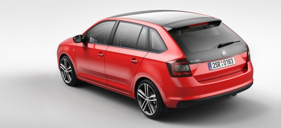 ŠKODA Rapid Spaceback wins the Red Dot Award for high quality product design