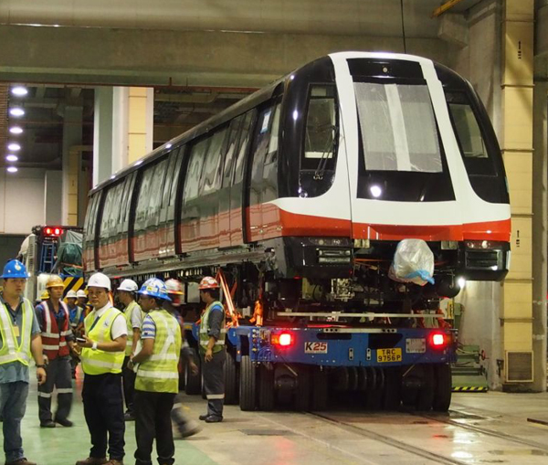 Alstom delivers the first two driverless metros manufactured in Asia for Singapore's Land Transport Authority