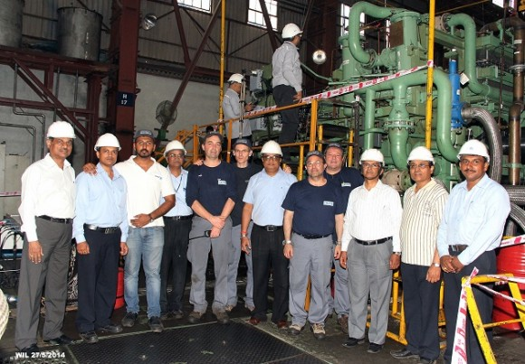 DCNS: The completion of the last raft-mounted gearbox for the Indian anti-submarine corvettes marks the successful culmination of the transfer of technology process