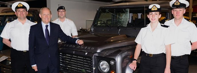 Jaguar Land Rover launches new training scheme for ex-military personnel to start new careers in the automotive industry