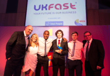 Manchester-based hosting firm UKFast won the Medium Business of the Year title at this year's Skills for Business Awards