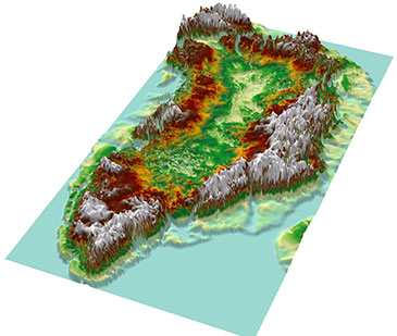 The 'Greenland Grand Canyon' was an unexpected discovery resulting from the analysis of radar data collected over Greenland since the 1990s.