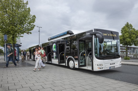 MAN Lion's City GL CNG to be awarded 'Bus of the Year 2015' in September at 2014 IAA Commercial Vehicles Fair in Hanover
