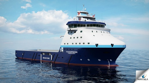 The new Wärtsilä Ship Design multi-purpose platform supply vessel features a compact design yet with a high deadweight giving maximum cargo capacity. The vessel is being built by Tersan Shipyard in Turkey on behalf of US based Tidewater Inc.
