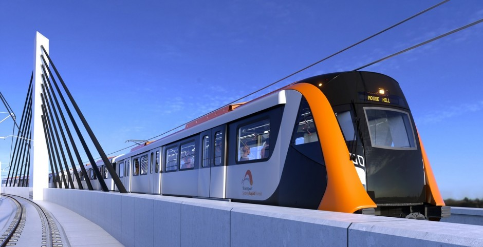 Alstom to deliver Sydney's new generation of rapid transit trains as part of the North West Rail Link