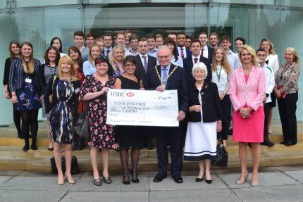Bentley trainees support local charity