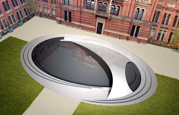 LondonTown.com: Zaha Hadid's Crest sculpture the highlight of London Design Festival 2014