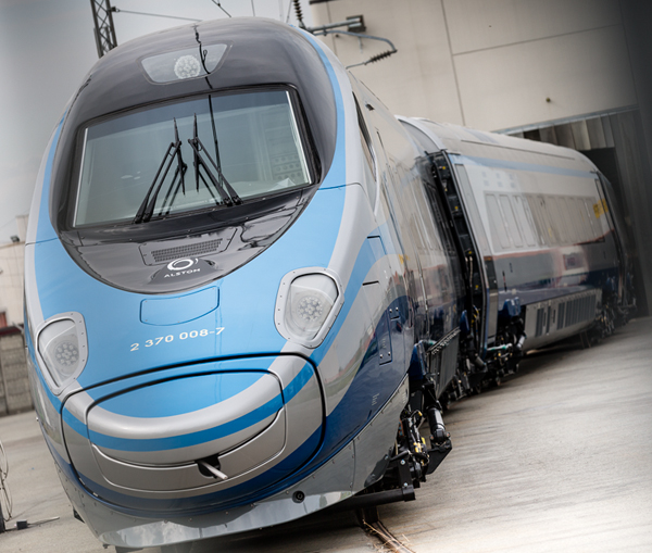 Polish Office of Rail Transport certified Alstom's Pendolino train for up to 250 km/h