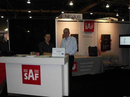 """SAF Tehnika exhibited at """"CTIA 2014"""" in Las Vegas, USA"""