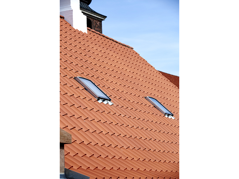 The VELUX Group developed new roof window designed for historical buildings