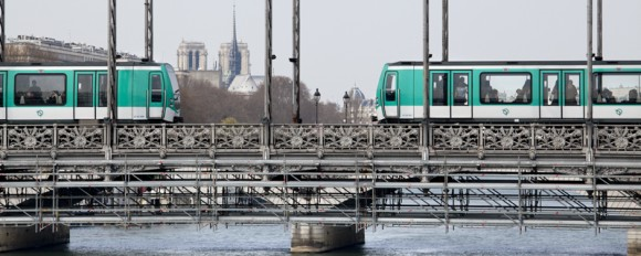 Alstom, Bombardier Transport and AREVA TA consortium to suply 12 new MF01 metro sets to STIF and RATP for the Paris metro network