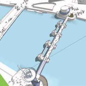 GRAHAM Construction selected to build new £5m cycle & pedestrian footbridge at the Lagan Weir in Belfast