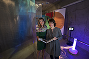 Multi-sensory environments help people living with dementia. Dr Lesley Collier and Dr Anke Jacob