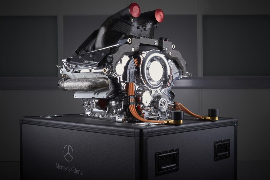 Mercedes-Benz PU106A Hybrid, Power Unit, MERCEDES AMG PETRONAS