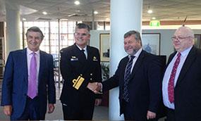 NAVANTIA y Australia firman contrato para el análisis del diseño de dos buques logísticos