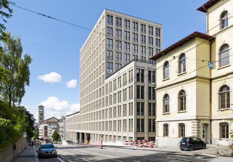The new LEE building opens at ETH today. (photo: ETH Zurich)