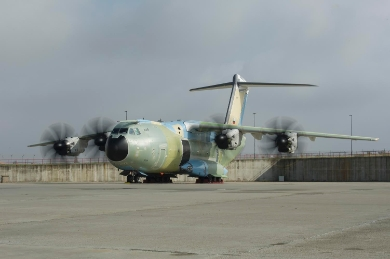 The first Airbus A400M new generation airlifter for the German Air Force begun final tests towards its delivery