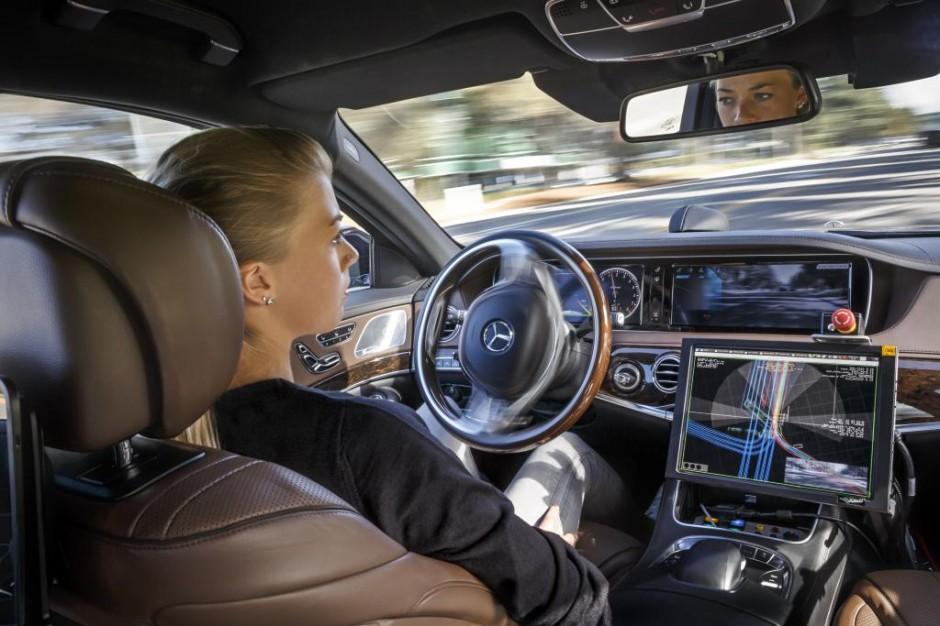 Mercedes-Benz S500 Inteligent Drive TecDay Autonomous Mobility Sunnyvale 2014