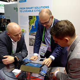 Ramboll demonstrated its liveability tool live for the first time at the Smart City Expo World Congress 2014 in Barcelona
