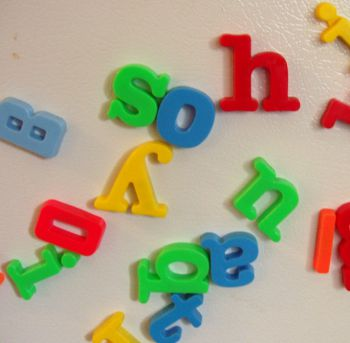 Do coloured-letter toys lead to synaesthesia?