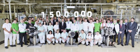 ŠKODA produced 1.5 million components (engines and gearboxes) at their Czech plants this year - more than ever before