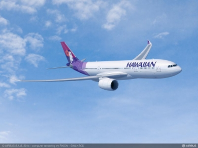 Hawaiian Airlines, A330-800neo (c) Airbus