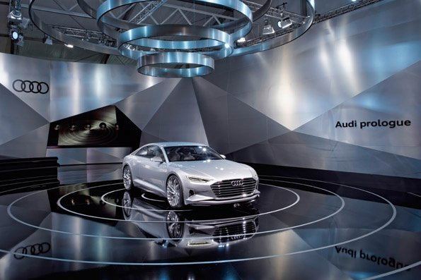 The force within: the Audi prologue at Design Miami 2014.