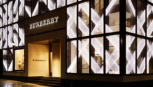 Burberry opens new store in Omotesando, Tokyo