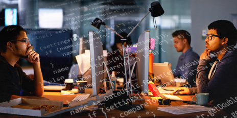 Software developers do not always work for money. In open source projects some of them are willing to work for free. (Photo: iStock.com / Montage)