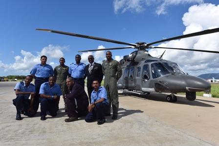 Finmeccanica - AgustaWestland congratulated the accomplishments of the Trinidad and Tobago Air Guard