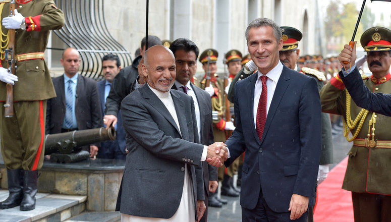 NATO completes its combat mission in Afghanistan and opens new chapter in the relationship with Afghanistan