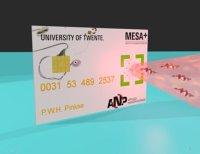 UT research institute MESA+ and Eindhoven University of Technology: credit cards which are impossible to hack will soon be possible thanks to quantum physics