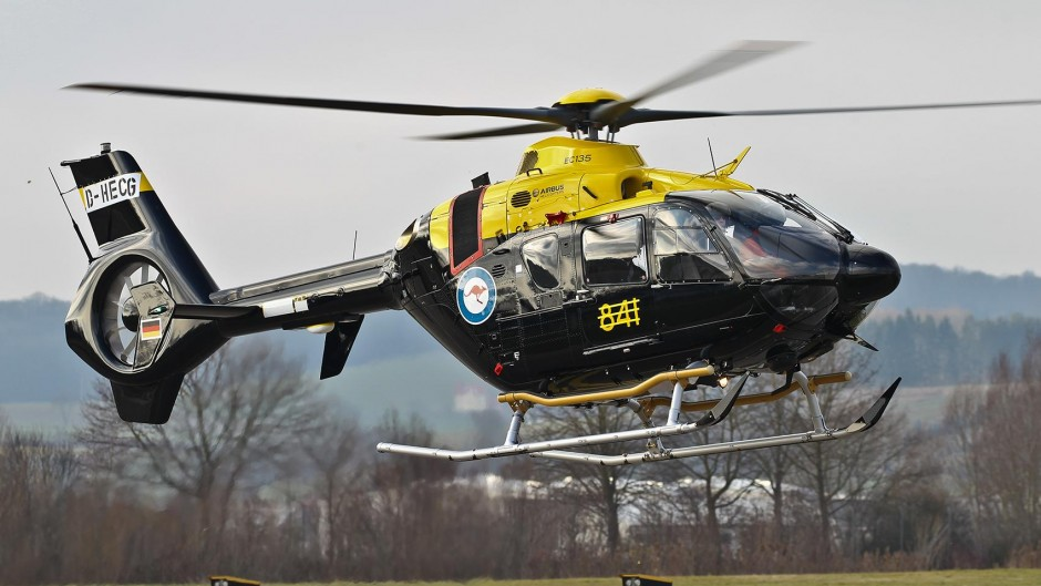 The HATS No.1 EC135 T2+ (© Copyright Airbus Helicopters, Charles Abarr)