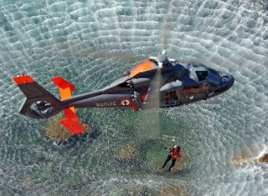 AS365 N2 Marine performing SAR mission (Ref. EXPH-0036-53, © Copyright Anthony Pecchi).